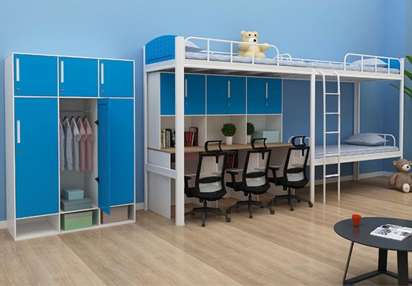 學校家具-三人床